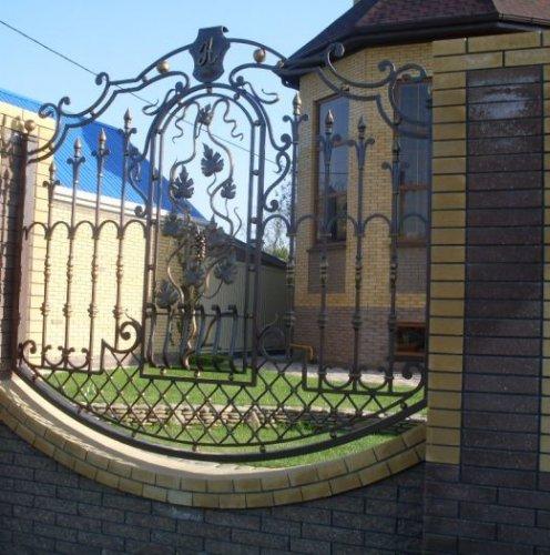 Художественная ковка: ворота