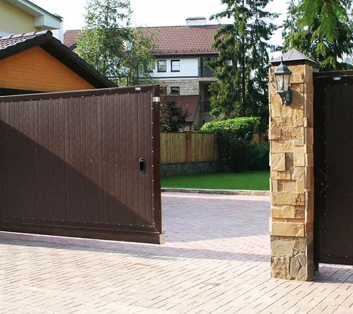 Откатные ворота doorhan для
