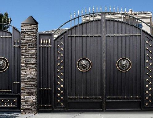 Ворота гаражные в Новосибирске